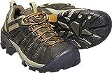 KEEN Men's Voyageur Trail Shoe, Black Olive/ Inca Gold, 10 M US