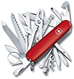 Victorinox SwissChamp Navaja, Rojo, Acero Inoxidable, 91mm, 8