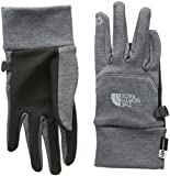 The North Face W Etip Glove Guantes, Mujer, (Negro/Rosa), XS