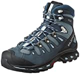 Salomon Quest 4d 2 Gtx - Zapatos Mujer, Azul (Deep Blue /     Stone Blue /     Light Onix), 40 EU