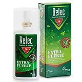 Relec Extra Fuerte Spray Repelente Antimosquitos Fuerte y Eficaz, 9 horas de Protección, Donación de 1€ por cada unidad vendida a beneficio de la lucha contra el cáncer* - 75 ml