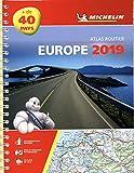 Europe 2019 - atlas routier et touristique (a4 - spirale) (Michelin Road Atlas)