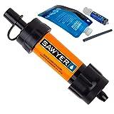 Sawyer Products Sistema de Filtro Mini portátil, Unisex, SP103 Mini Single, Naranja