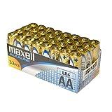 Packs 32 y 40 AAA AA Maxell (AA, 32 Unidades)