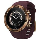 Suunto 5 Reloj Deportivo GPS Ligero y Compacto, Seguimiento 24/7 de Actividad física, Medición del Ritmo cardiaco en la muñeca, Unisex-Adulto, Burdeos/Cobre, Talla Única