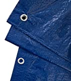 GardenMate 3x6m 90g/m² Lona impermeable de protección Universal azul/verde - Funda protectora - Malla geotextil