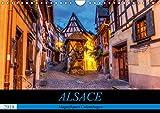 Alsace, magnifiques colombages: Magnifiques maisons traditionnelles à colombages d'Alsace. Calendrier mural A4 horizontal (Calvendo Places)