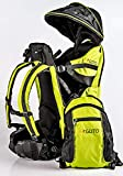 GUTO Deluxe Backpack Mochila portabebé, Adultos Unisex, Verde, l