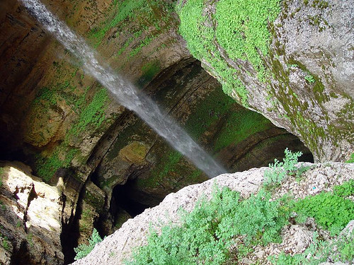 la cascada Baatara
