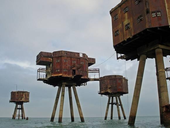 Las fortalezas marinas Maunsell. De máquinas de guerra a guerreros ecológicos