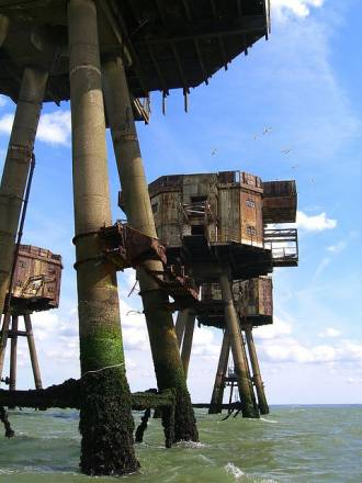 Fortalezas marinas Maunsell - 04