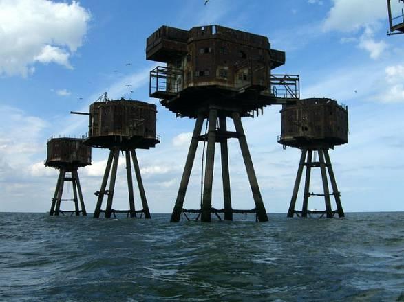Fortalezas marinas Maunsell - 06