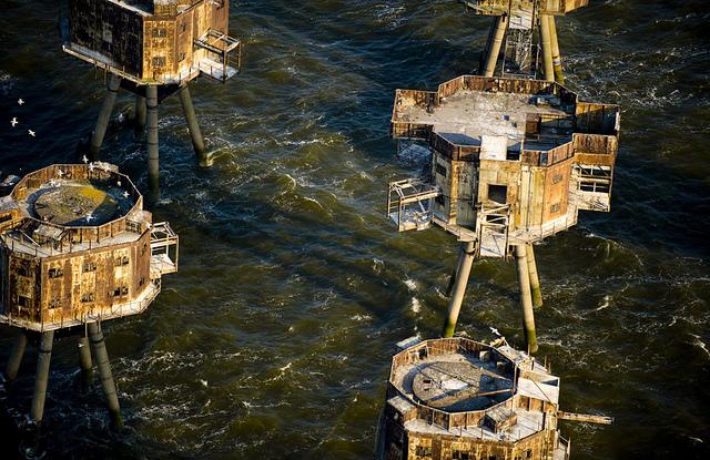 Fortalezas marinas Maunsell - 10