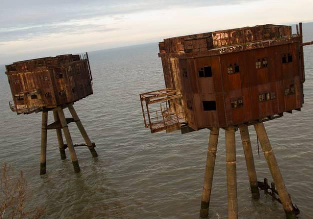 Fortalezas marinas Maunsell - 11