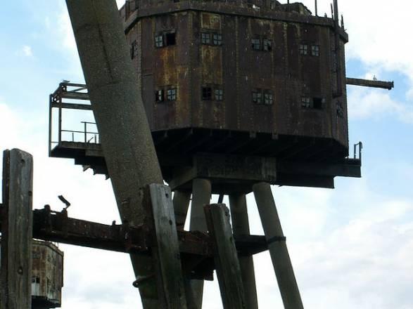 Fortalezas marinas Maunsell - 12