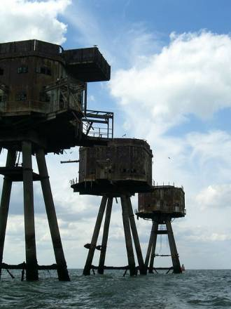 Fortalezas marinas Maunsell - 14