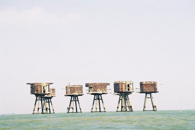 Fortalezas marinas Maunsell - 16