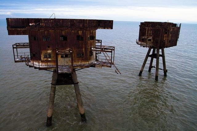 Fortalezas marinas Maunsell - 17