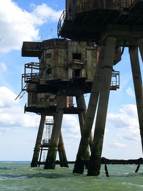 Fortalezas marinas Maunsell - 18