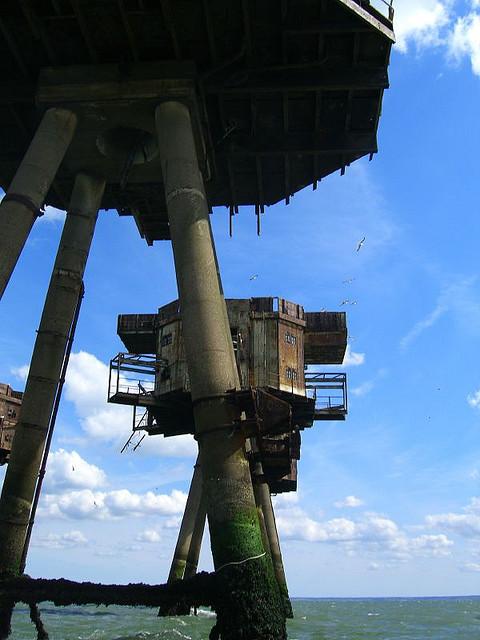 Fortalezas marinas Maunsell - 23