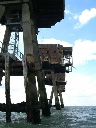 Fortalezas marinas Maunsell - 24