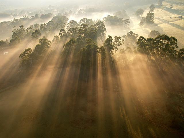 Rayos crepusculares – Increíbles rayos del sol captados con la cámara