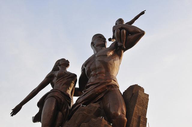 Monumento al Renacimiento Africano - Dakar, Senegal, África - 04