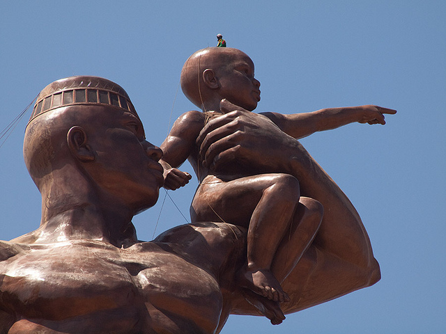 Monumento al Renacimiento Africano - Dakar, Senegal, África - 07