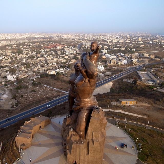 Monumento al Renacimiento Africano - Dakar, Senegal, África - 12
