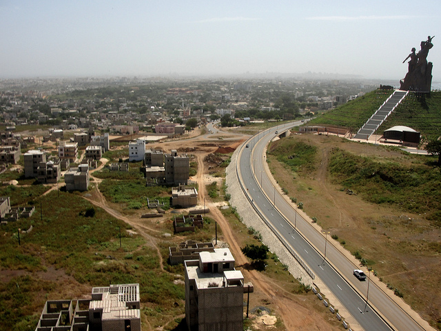 Monumento al Renacimiento Africano - Dakar, Senegal, África - 16