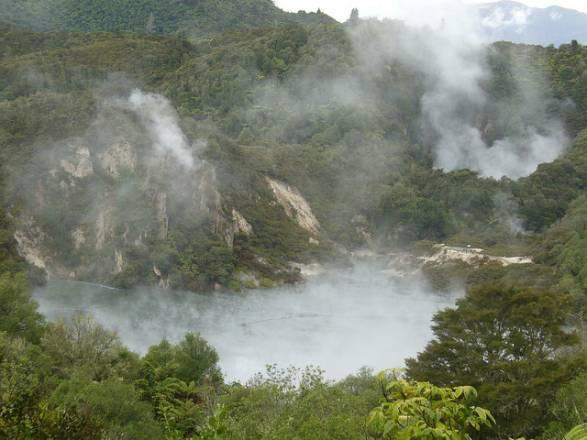 Lago Frying Pan (Lago Sartén) – las mayores aguas termales en el Mundo