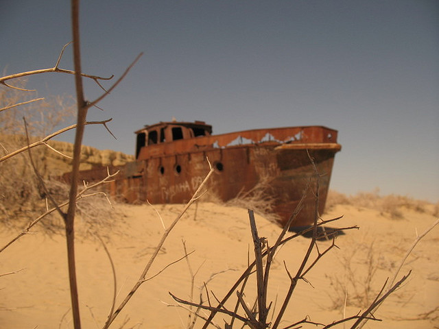 Moynaq - Vissersboot