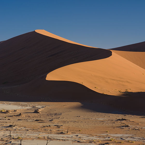 Deadvlei - Cementerio de áboles desecados en Namibia