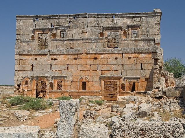 Ruinas en Siria