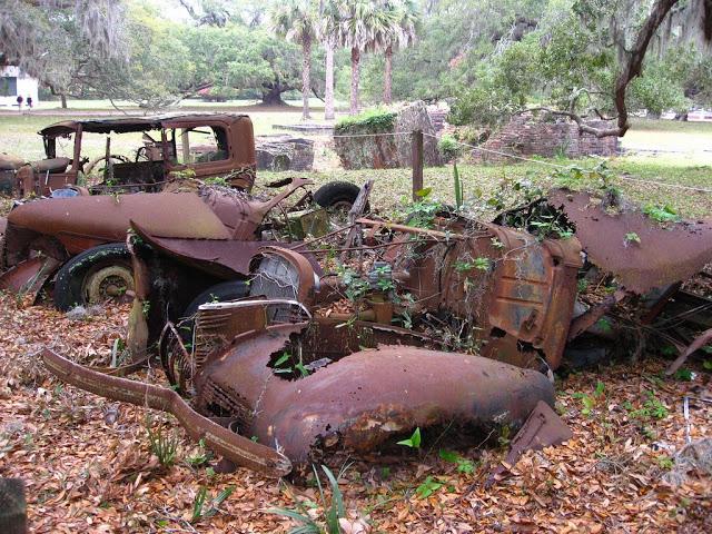 Coche oxidado