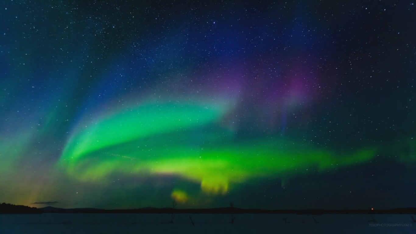 The Aurora Time Lapse