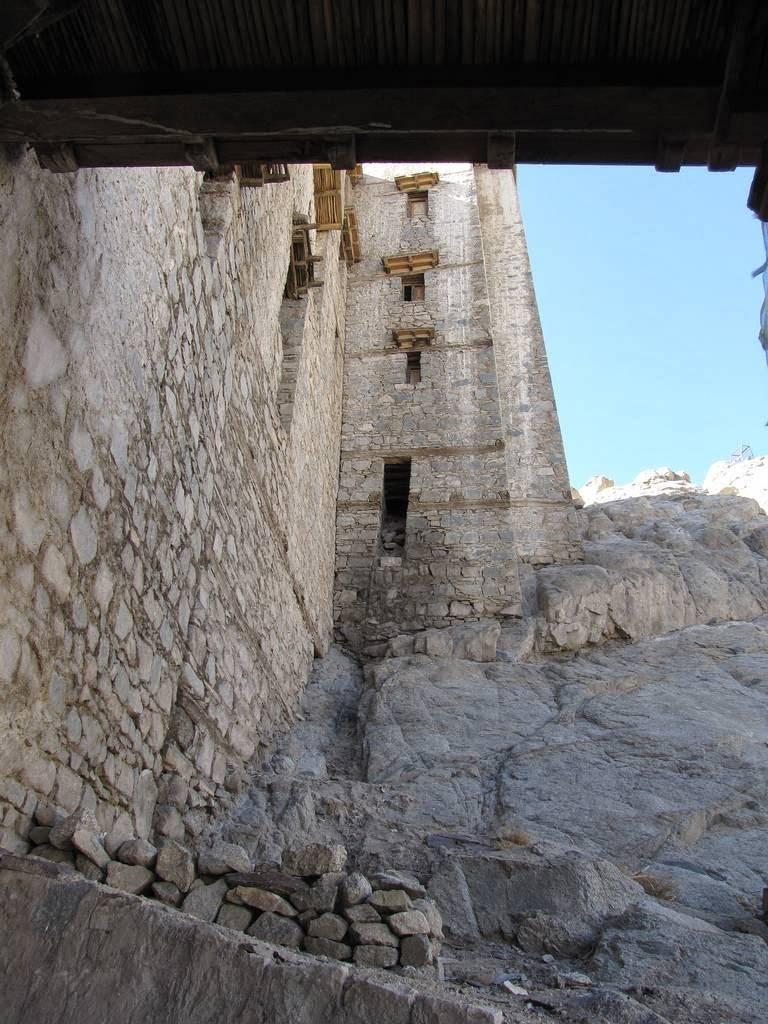 Fachada del Palacio de Leh