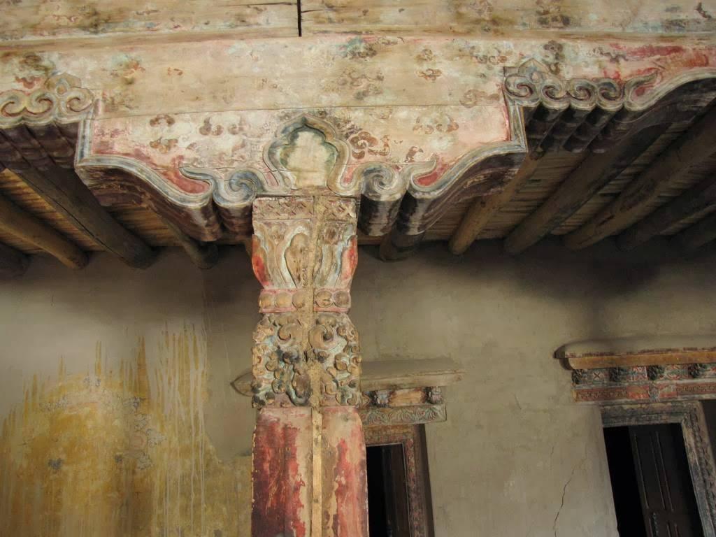 Columna del Palacio de Leh