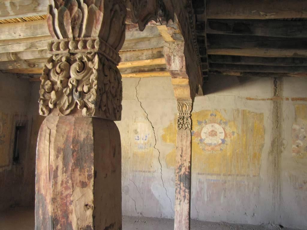 Interior del Palacio de Leh