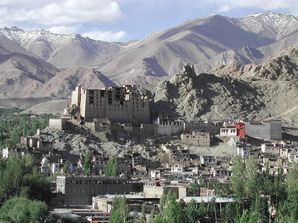 Palacio de Leh: Bastión abandonado en el Himalaya