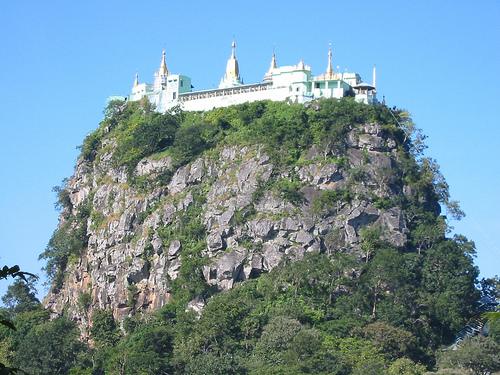Buddhist Monastery, Taung Kalat, Near Mount Popa