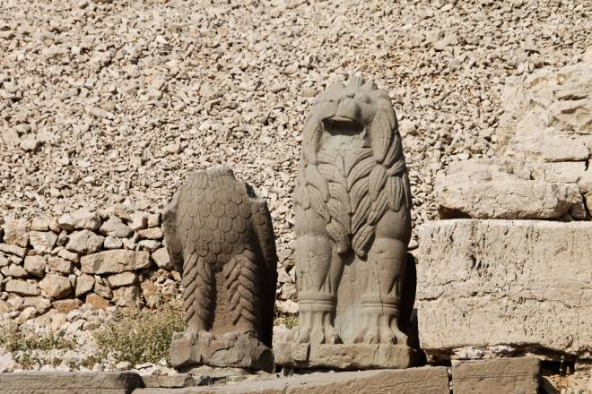 Mount Nemrut Eagle and Lion