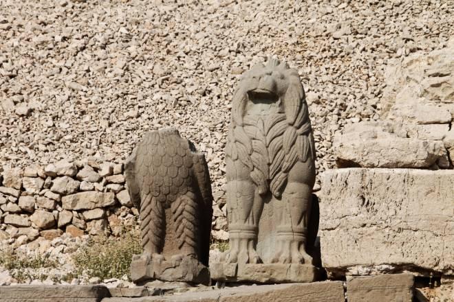 Mount Nemrut Eagle and Lion