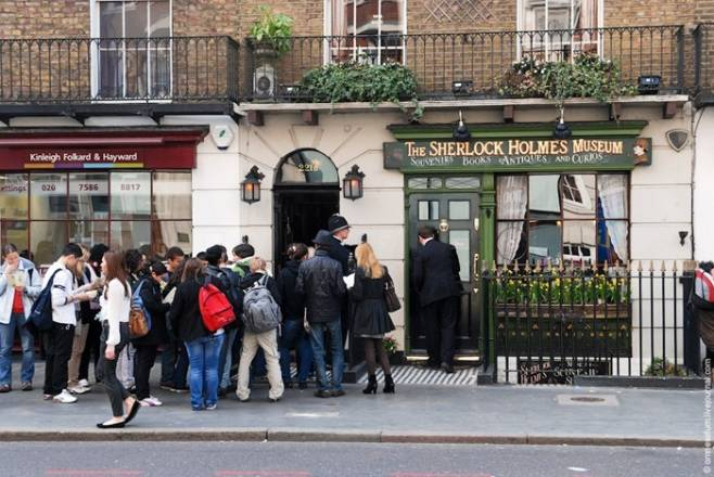 Museo de Sherlock Holmes, en Londres