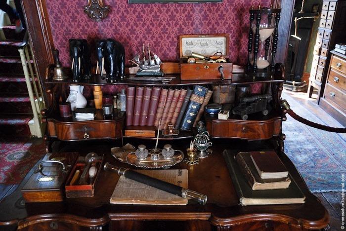 El estudio personal de Holmes