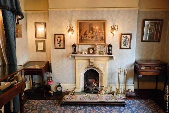 Dormitorio de la Sra. Hudson