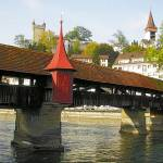 Spreuer Bridge over Reuss River (Lucerne)