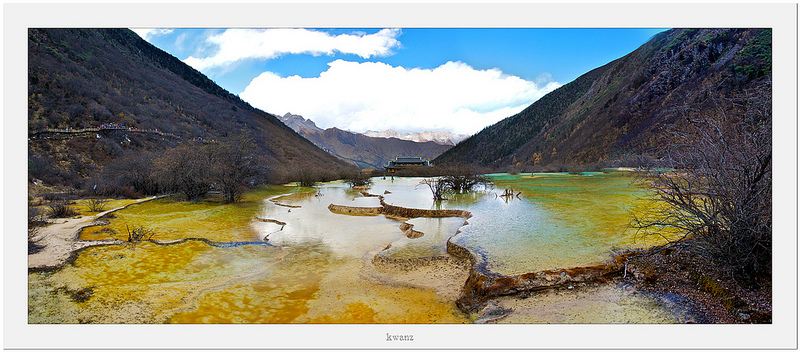 Huanglong Scenic and Historic Interest Area, Sichuan, China