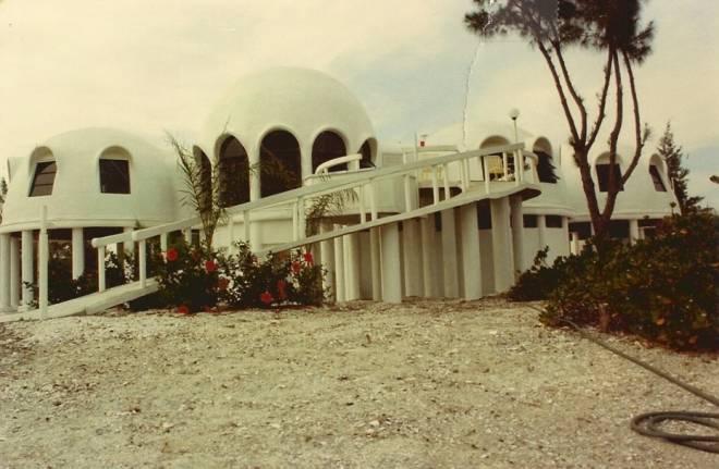 La misteriosa casa domo de Cape Romano