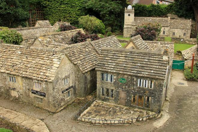 Bourton-on-the-Water y sus maquetas recursivas